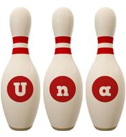 Una bowling-pin logo