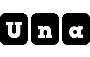 Una box logo