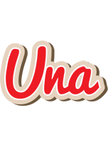 Una chocolate logo