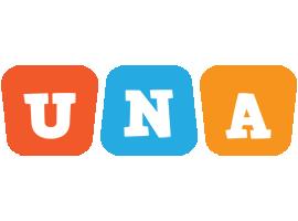 Una comics logo