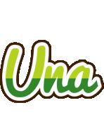 Una golfing logo