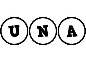 Una handy logo