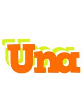 Una healthy logo
