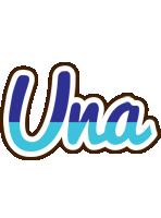 Una raining logo