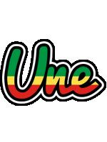 Une african logo