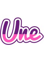 Une cheerful logo