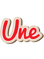 Une chocolate logo