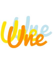 Une energy logo