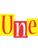 Une errors logo