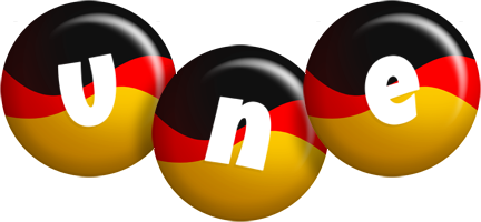 Une german logo