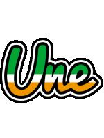 Une ireland logo