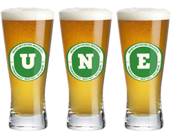 Une lager logo