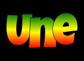 Une mango logo