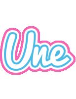 Une outdoors logo