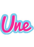 Une popstar logo