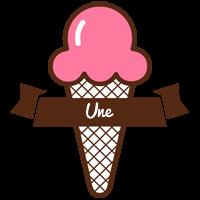 Une premium logo