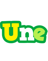 Une soccer logo
