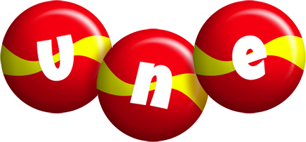Une spain logo