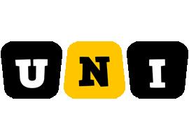 Uni boots logo