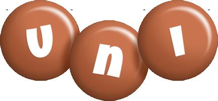 Uni candy-brown logo