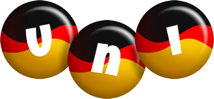 Uni german logo