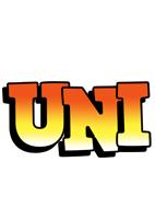 Uni sunset logo