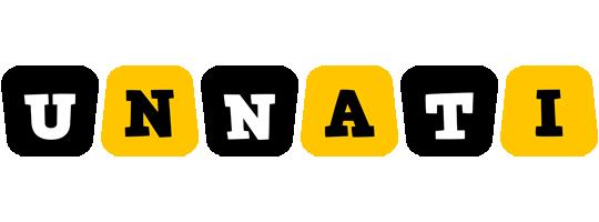 Unnati boots logo