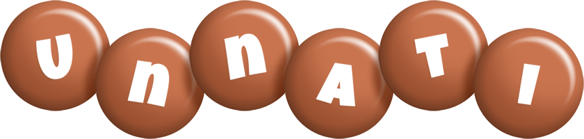 Unnati candy-brown logo