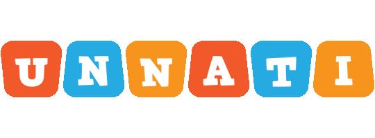 Unnati comics logo