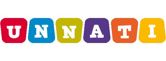Unnati kiddo logo