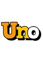Uno cartoon logo