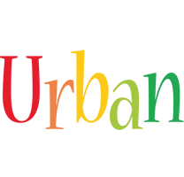 Urban birthday logo