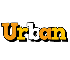 Urban cartoon logo