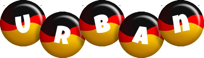 Urban german logo