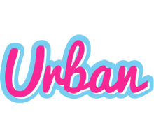 Urban popstar logo