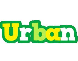 Urban soccer logo
