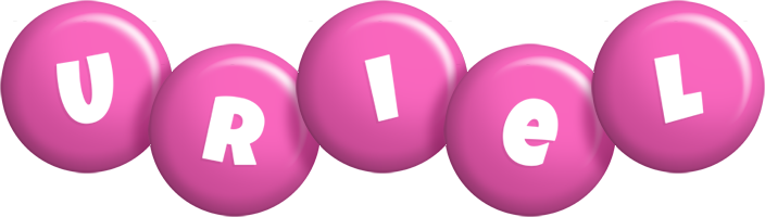 Uriel candy-pink logo