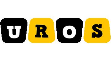 Uros boots logo