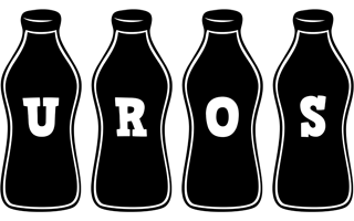 Uros bottle logo