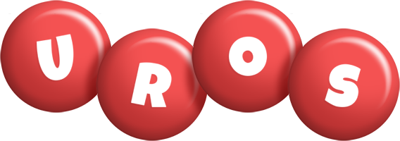 Uros candy-red logo