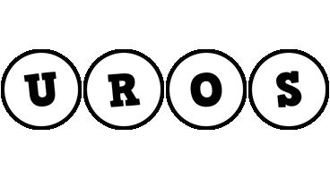 Uros handy logo