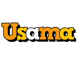 Usama cartoon logo