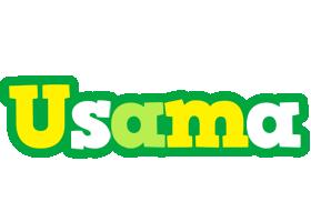 Usama soccer logo