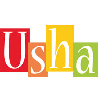 Usha colors logo