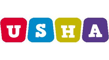 Usha kiddo logo
