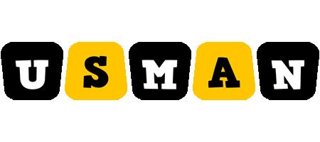 Usman boots logo