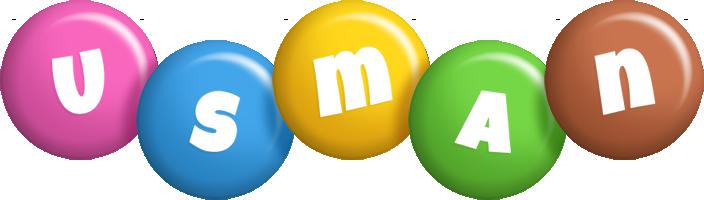 Usman candy logo