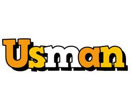 Usman cartoon logo