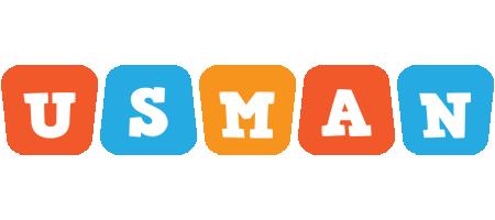 Usman comics logo