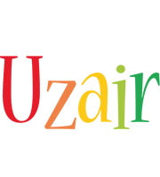 Uzair birthday logo